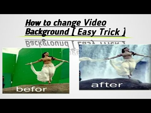 How to Change Video Background Using Mobile [ No Need Video Layer] https://youtu.be/y9EfOG5ygrM