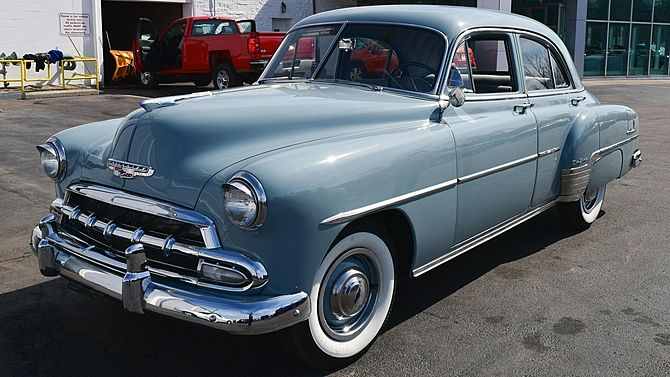 45 best chevrolet 1950 to 1959 images on pinterest old for 1952 chevy deluxe 4 door