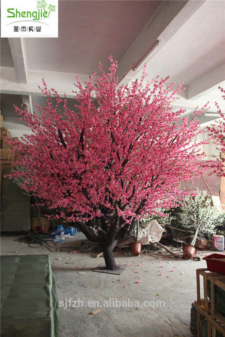 Top sale fiberglass artificial tree artificial peach blossom tree, View fiberglass artificial tree , shengjie Product Details from Guangzhou Shengjie Artificial Plant Co., Ltd. on Alibaba.com