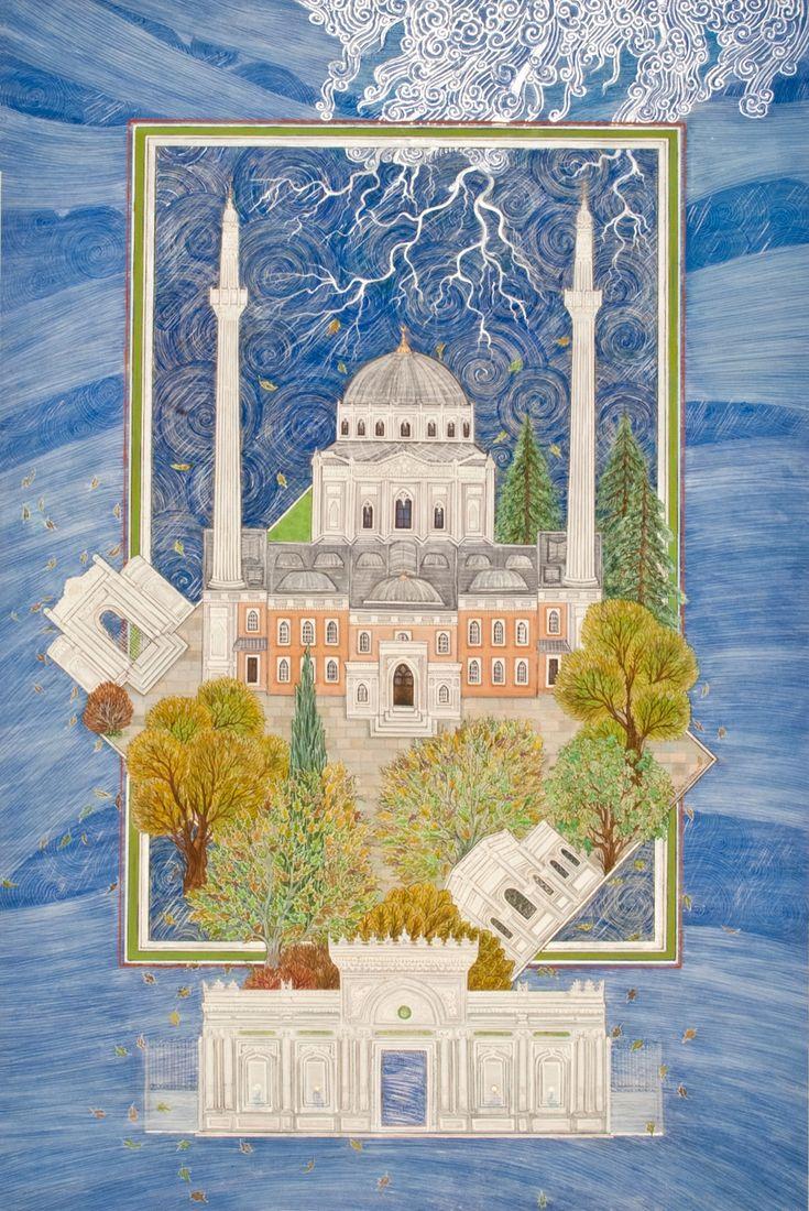 """Pertevniyal Valide Sultan Mosque"" by Gulcin Anmac."