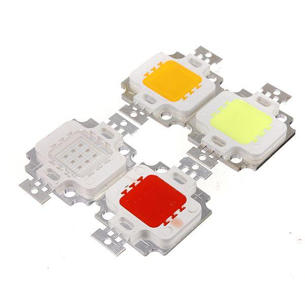 Multicolor 10w de alta potência LED chip de teto baixo inundação lâmpada luz acessórios dc9-12v