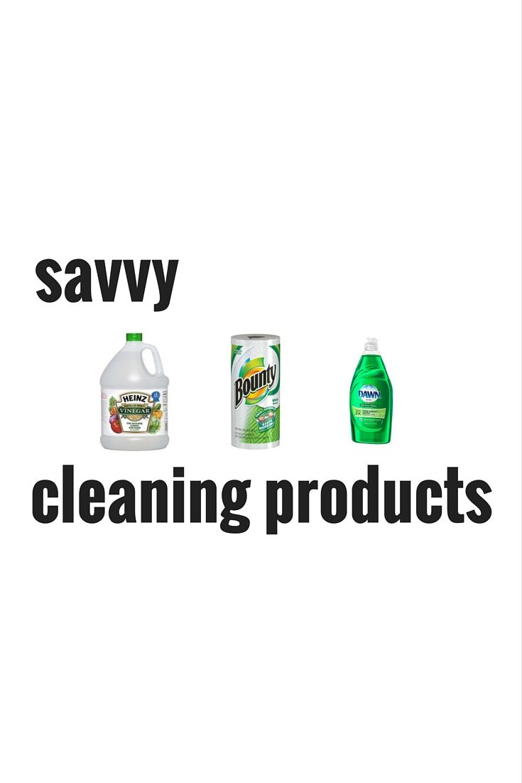 Savvy #Cleaning Products, Solutions & Detergents with tips on how to use them to make your home spotless and sparkling clean.