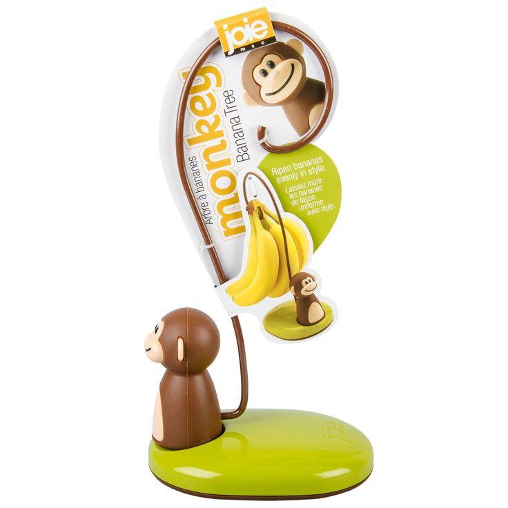 Joie Mono bananero Colgador Soporte de almacenamiento de información de fruta fresca