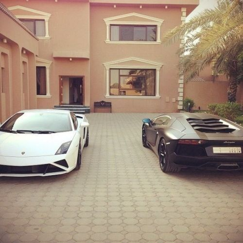 Sureeeee we'll have matching lambos.... *starts counting pennies*