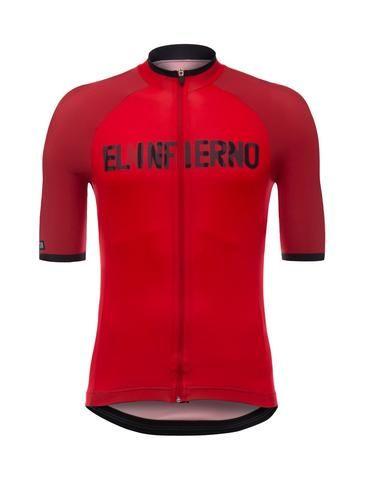 2017 La Vuelta a Espana Angliru Cycling Jersey  Made in Italy by Santini 744e448eb