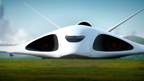 PAK TA, un concept d'avion cargo supersonique russe Photo : Capture d'écran Alexey Komarov/Vimeo