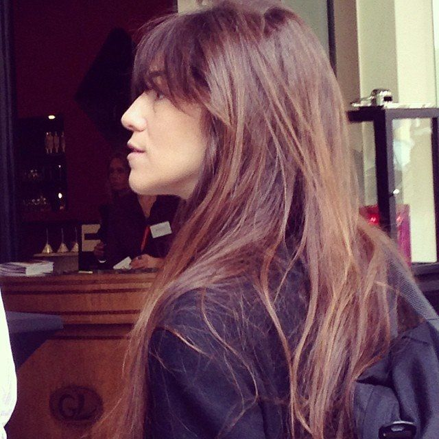 Charlotte Gainsbourg's hair