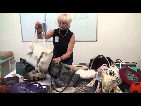Войлочная сумка. Мастер Анна Кабанова - YouTube