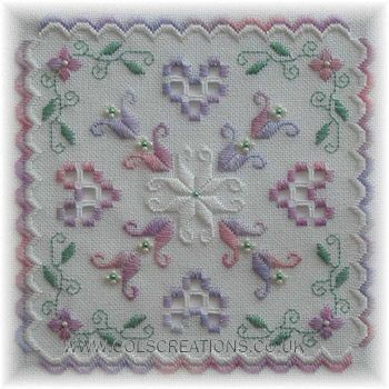 Col's Creations - Traditional Hardanger Designs - Samplers Make A Perfect Gift or Stitch One For Yourself
