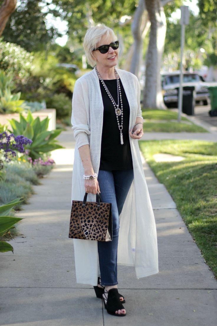 5e359e138e Outfit  Favorite Duster Cardigan With Some New Accessories