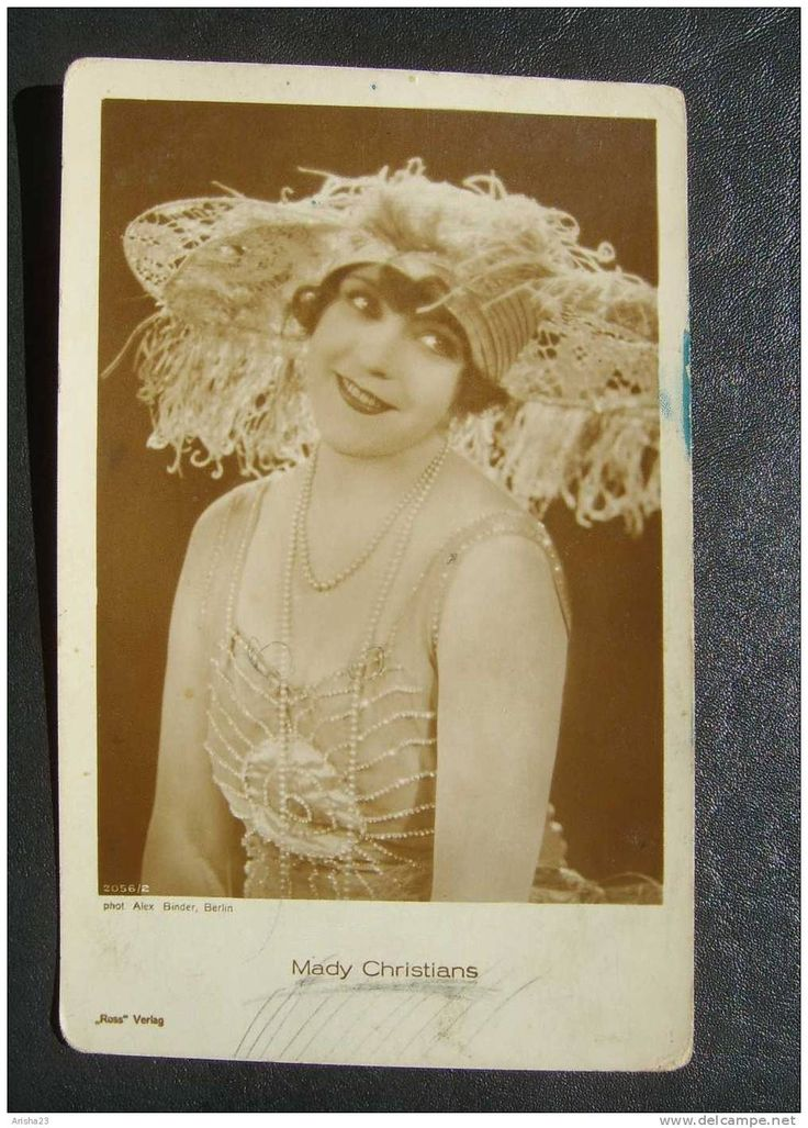 Berlin, Cinema - Film - Mady Christians actress vintage photo postcard by Alex Binder - 1932 - Ross verlag