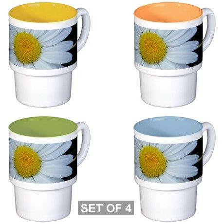 Cute, white chrysanthemum Coffee Cups on CafePress.com #coffeemugs #mugs #flowers #cute #chrysanthemum #fotosbykarin #gifts #cafepress #kravasio #k-ravasio