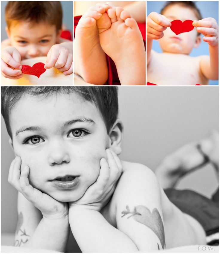 Valentines day baby photo ideas