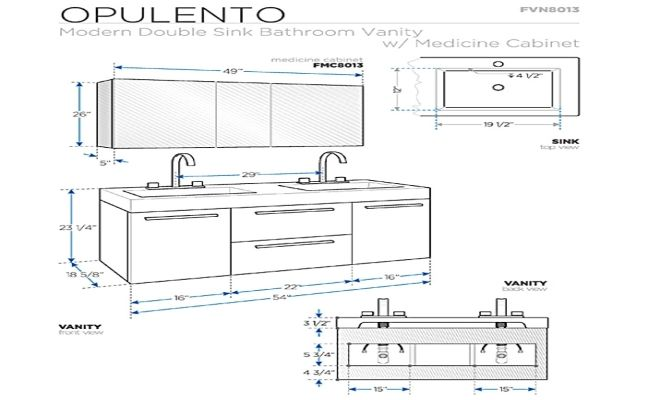 Bathroom Vanities Dimensions bathroom vanity cabinet dimensions