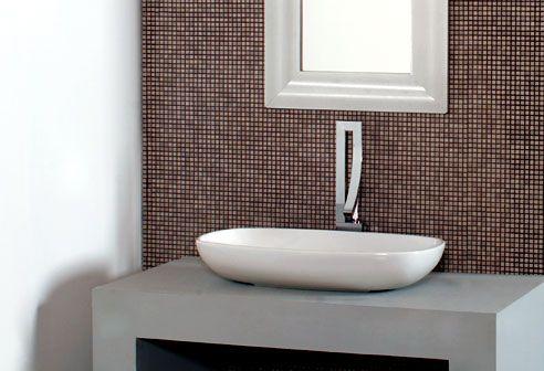 zeitloses designer waschbecken teide italienische badkeramik praxistoilette pinterest. Black Bedroom Furniture Sets. Home Design Ideas