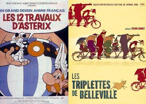 Des Douze travaux d'Astérix (1976) aux Triplettes de Belleville (2003), toute l'histoire du *grand dessin  animé français* !