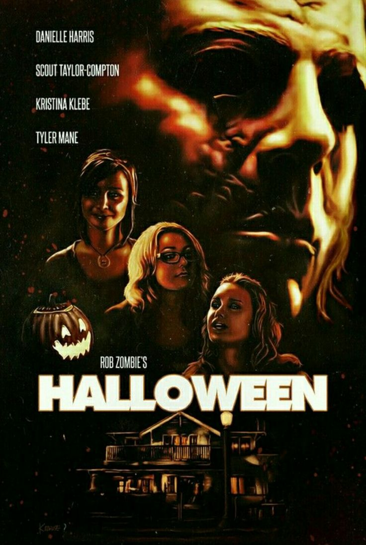 Halloween Rob Zombie Horror movie poster