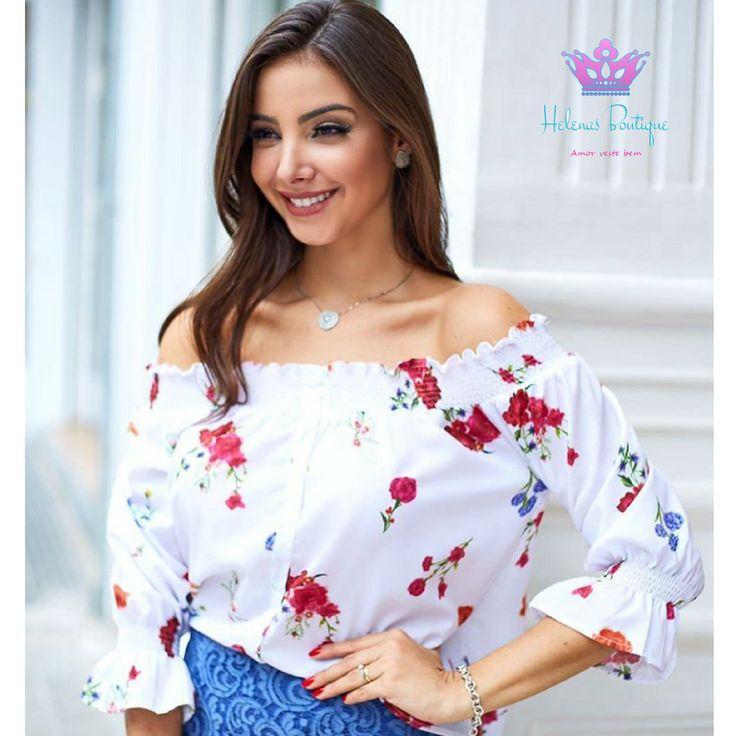 Blusa charmosa e perfeitinha para o clima de hoje em #pirassununga! 😍    #helenasboutique #pirassununga #modafeminina #uniquechic #fashiontips #estilo