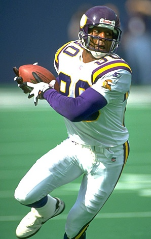 Was a Big Chris Carter fan from the Vikings