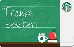 Teacher Appreciation...