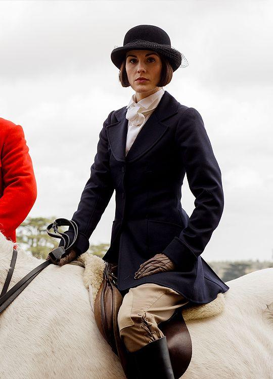 Lady Mary Crawley, Downton Abbey  Season 6, 1 ..