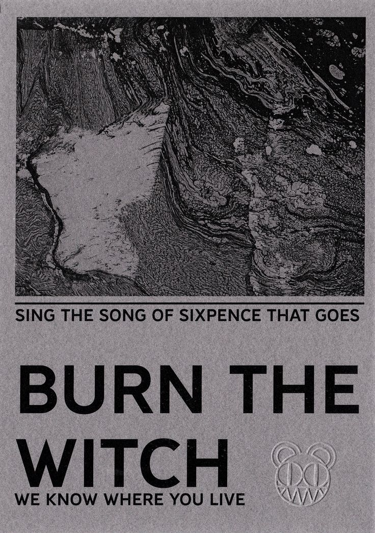 "Radiohead ""Burn The Witch"" Pamphlet (edited)"
