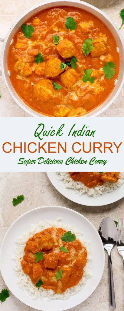 Quick Indian Chicken Curry Vegetarian And Vegan Meat Free And