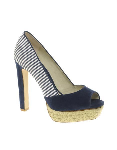 Морская тематика обувь
