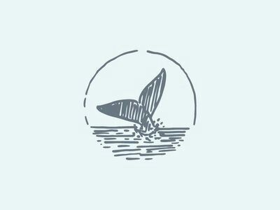 Whale tail in a coffee mug stain? I think so