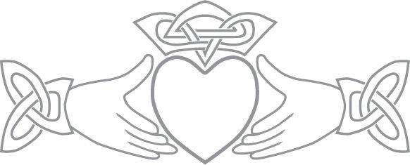 Irish Claddagh Symbol | claddagh symbol | Pre-Cut Patterns