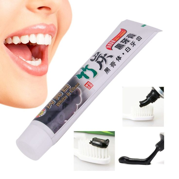 Charcoal Toothpaste For Amazing White Teeth