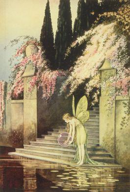 Ida Rentoul OuthwaiteFantasy, Castles Vintage, Fairies Castles, Faeries, Vintage Artworks, Fairies Art, Ida Rentoul, Rentoul Outhwaite, Fairies Tales