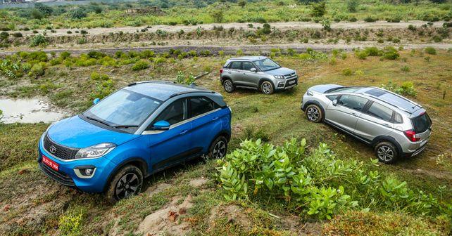 Tata Nexon vs Maruti Suzuki Vitara Brezza vs Honda WR-V: confronto - autoX