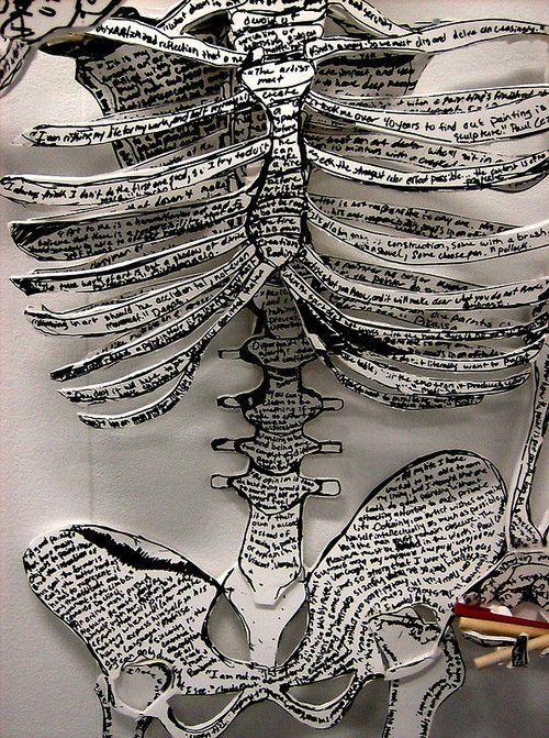 skeletal artwork