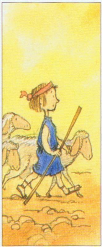 """Le prénom David signifie en hébreu """"bien-aimé"""". Il est fêté le 29 décembre, le prophète David est le patron des chorales et des musiciens. Prénoms apparentés : Daoud (arabe), Davide (italien), Davy, Dewi (breton). Un berger, musicien auprès du roi Saül..."""
