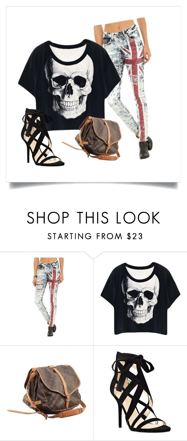 breznoAir by exkniha on Polyvore featuring Nine West, Louis Vuitton, women's clothing, women's fashion, women, female, woman, misses and juniors