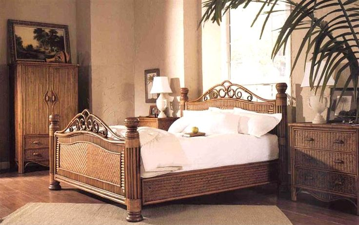 19 Best Images About Rattan And Wicker Complete Beds In
