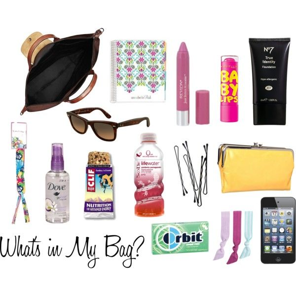 What's in my bag? #longchamp #beauty #purse