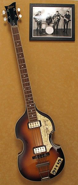 Buy online, view images and see past prices for Paul McCartney, Hofner Bass Guitar, signed. Invaluable is the world's largest marketplace for art, antiques, and collectibles.