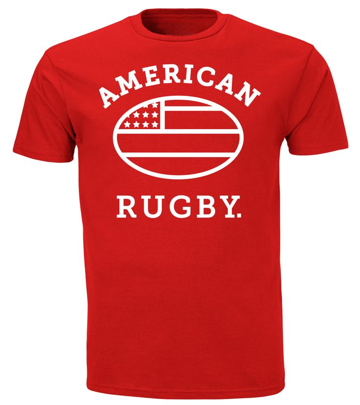This shirt is soft and cozy and will quickly become your favorite. Be sure to put your name on the label so nobody tries to steal it when it's laying around rugby practice.