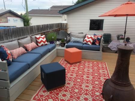 Outdoor Platform Sectional   Do It Yourself Home Projects from Ana White