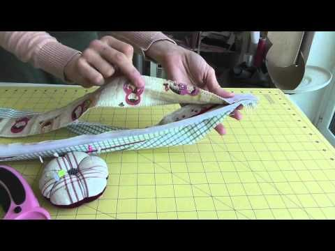 Livingthecrafts Tutorial Como hacer una funda de portátil, tablet  How to make a sleeve tablet.