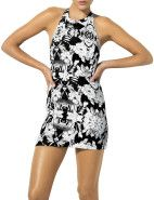Bec and Bridge Ikebana S/L Dress $160.00 #davidjones #black #white #new #trend #fashion #style #shop  #dress #print #floral #designer