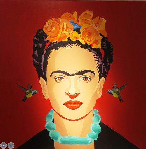 Portal Guaraní - ESTA NO ES FRIDA KAHLO, 2014 - Pinturas de HUGO CATALDO