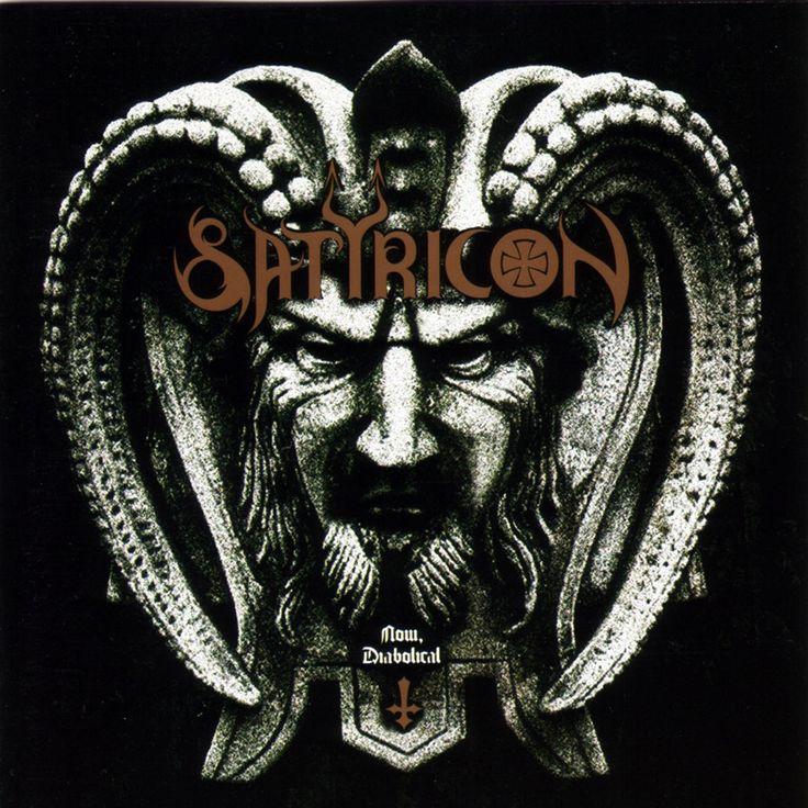 Caratula Frontal de Satyricon - Now, Diabolical