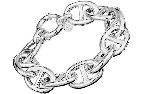 Bracelet maille marine argent 925 - 50 grammes Clio Blue