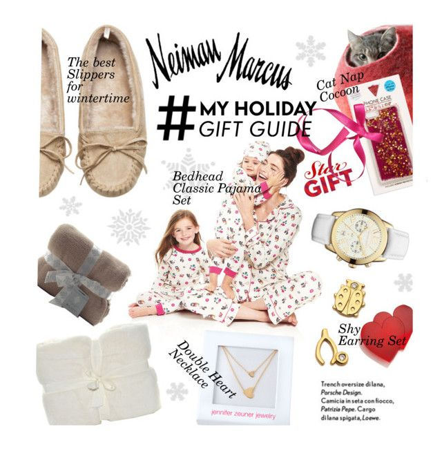 """""""The Holiday Wish List With Neiman Marcus"""" by malussieversii ❤ liked on Polyvore featuring Sydney Evan, Bed Head by TIGI, Jonathan Adler, Michael Kors, Skinnydip, Jennifer Zeuner and Neiman Marcus"""