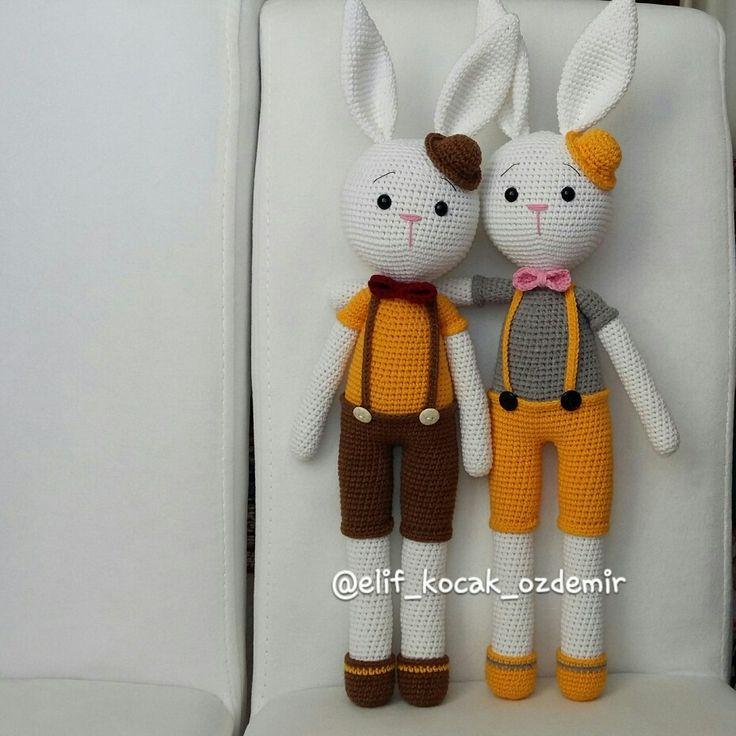 Amigurumi free pattern cracker bunny amigurumi tavşan