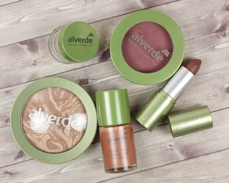 #review — alverde Sortiments Update. In diesem Blogpost stelle ich euch die neuen Face- und Lippenprodukte vor!