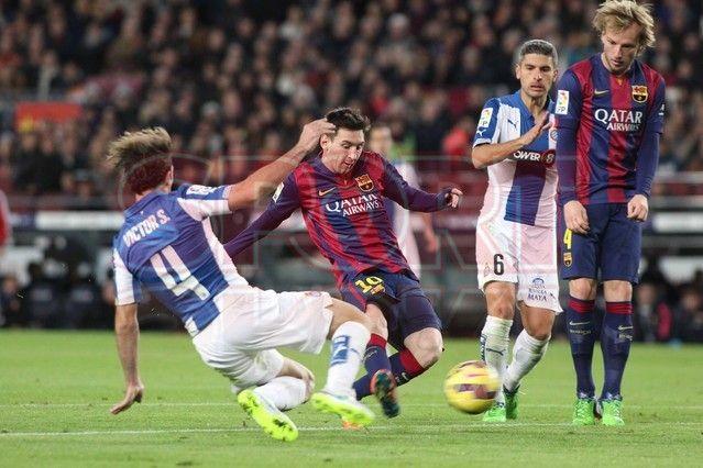 Messi listo para anotar | Barça, 5 - Espanyol, 1
